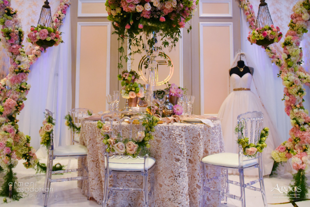 Chiffon Pipe & Drape and Clear Napoleon Chair| Party Rentals Los Angeles