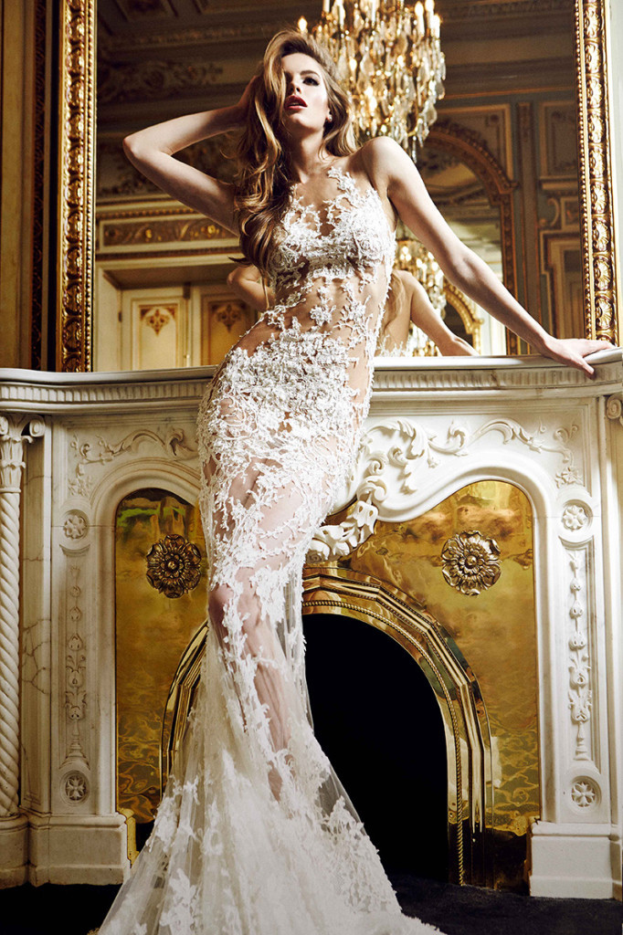 Atelier Pronovias 2015 Collection | Romantic lace wedding dress inspiration