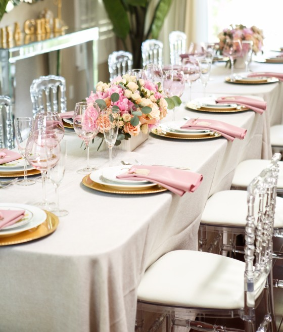 Table & Chair Rentals | Party Rentals Los Angeles & Orange County