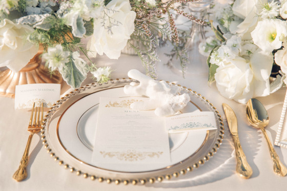 Gold Vintage Flatware | Party Rentals Los Angeles