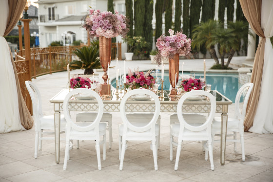 White Louis XVI Chair | Party Rental Los Angeles