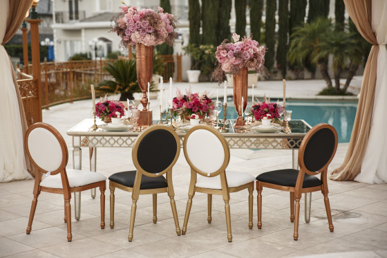 White And Gold Dining Chairs: Louis XVI Chair Or Dior Chair