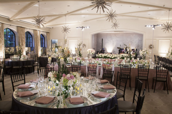 Round Mirror Tabletop | Party Rentals Los Angeles