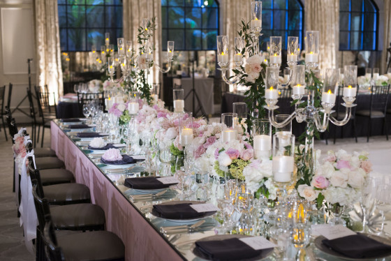 Mirror Tabletop | Event Planning Los Angeles
