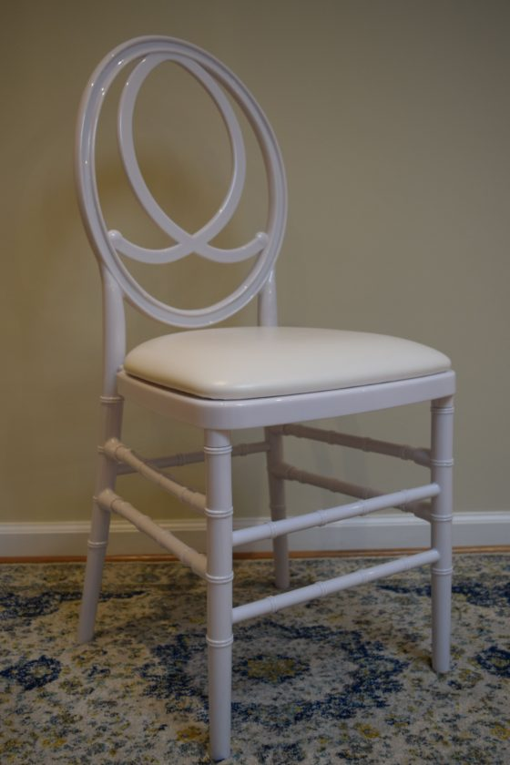 White Fishback Chair | Party Rentals Orange County